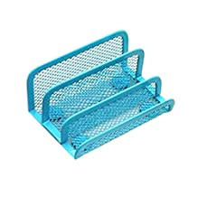Mesh Collection Business Card Holder Blue