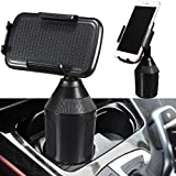 Geekercity Car Cup Holder Phone Mount, Adjustable Cell Phone Stand Holder 360° Rotatable Cradle Safe Driving Universal for iPhone X 8 8 Plus 7 iPad Mini Samsung Galaxy S8 S7
