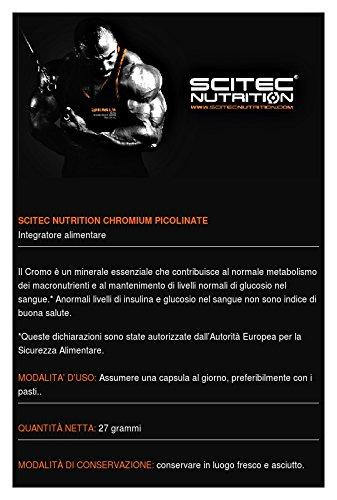 Amazon.com: Chromium picolinate - 100 tablets - Scitec essentials: Health & Personal Care