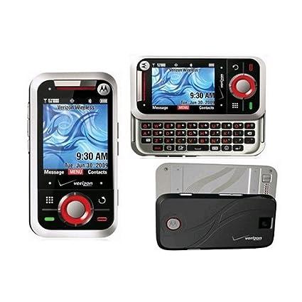 Amazon.com: Verizon Motorola A455 un 455 Rival plata Mock ...