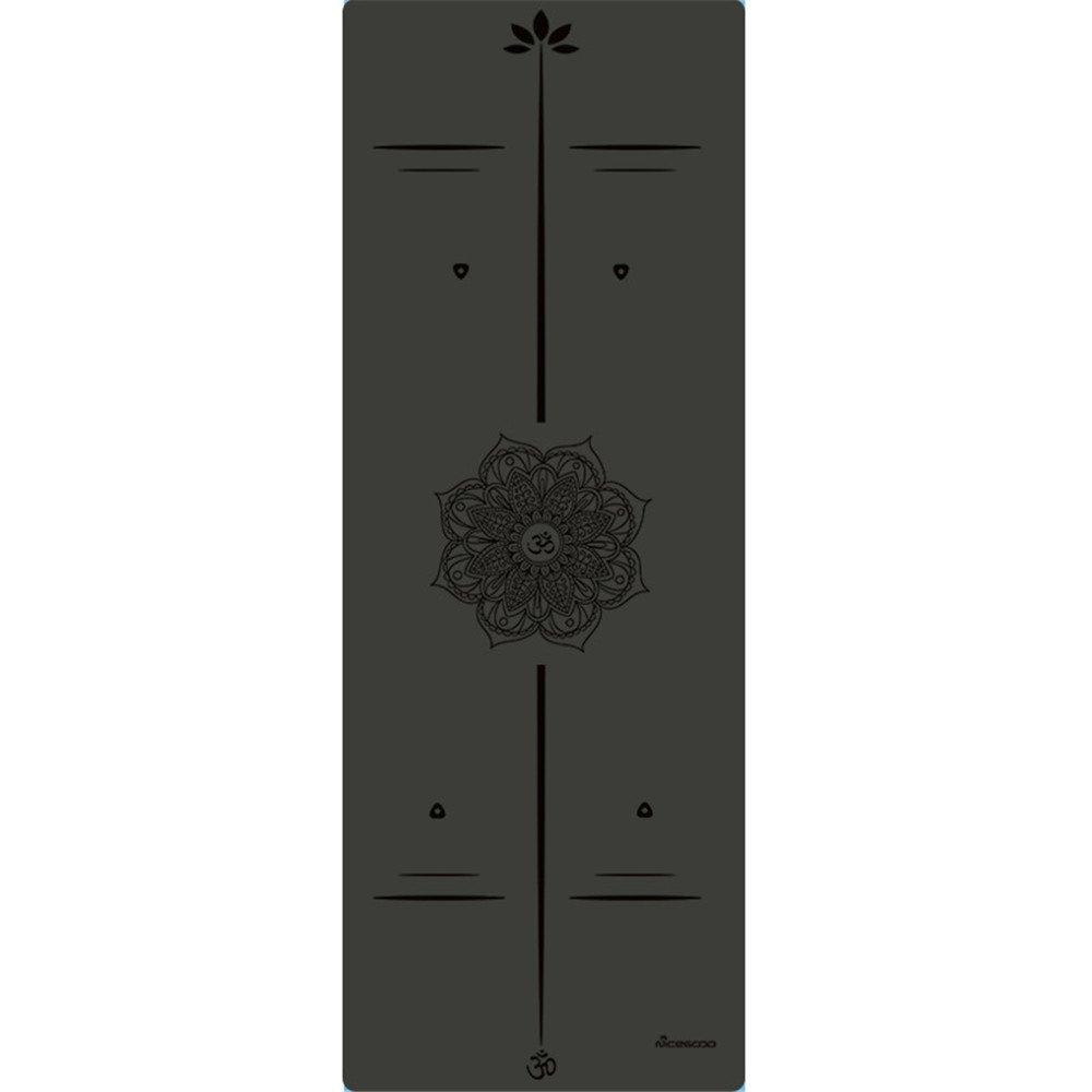 QAR Stuoia di Yoga Opaca di Stuoia di idoneità Ecologica di 4.5mm per La Famiglia della Palestra Stuoia di Yoga