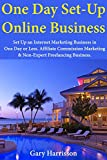 One-Day Set-Up Online Business: Set Up an Internet Marketing Business in One Day or Less. Affiliate Commission Marketing & Non-Expert Freelancing Business.