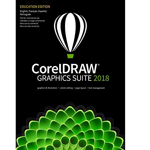 CorelDRAW Graphics Suite 2018 Education Edition [PC Download only] by Corel