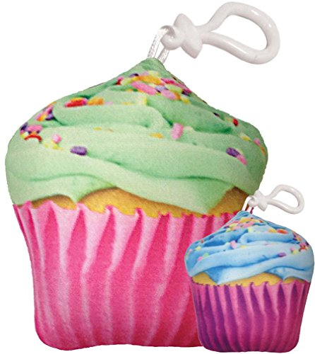 Cupcake Enclosure (iscream Sweet Treats Bubble Gum Scented Scented Celebration Cupcake Squishem Backpack)