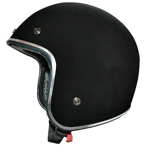 AFX FX-76 Open Face Helmet Black Chrome XXXL/XXX-Large