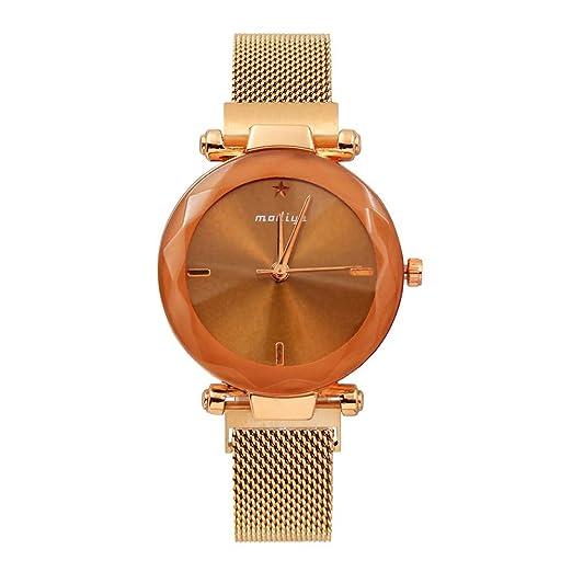 Moretime - Reloj de Pulsera analógico de Cuarzo con Correa de aleación y Esfera Digital de Color Talla única D: Amazon.es: Relojes