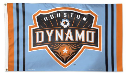 WinCraft Houston Dynamo Orange & Light Blue Deluxe Indoor Ou