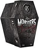 The Classic Monster Coffin Collection - 8-Disc Box Set ( Dracula / Frankenstein / The Mummy / The Invisible Man / Bride of Frankenstein / The Wolf Man / [ Blu-Ray, Reg.A/B/C Import - United Kingdom ]