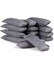 ANYI16 Natural Purifying Bags,[Upgraded] Bamboo Charcoal Bags,Shoe Deodorizer Activated Mini Charcoal Bags (14 Pack X 60g)