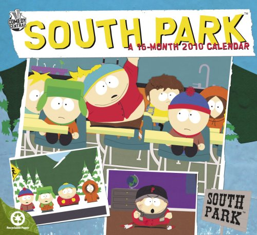 South Park 2010 Wall Calendar (Park 2010 Wall Calendar)