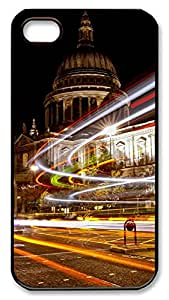iPhone 4 4s Case, iPhone 4 4s Cases - Landscapes London PC Polycarbonate Hard Case Back Cover for iPhone 4 4s¨CBlack