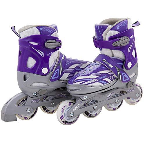 Chicago Blazer Junior Girls Adjustable Inline Skates - Purple