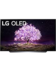 "LG OLED77C1PUB Alexa Built-in C1 Series 77"" 4K Smart OLED TV (2021)"