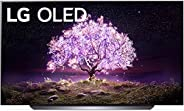 "LG OLED77C1PUB Alexa Built-in C1 Series 77"" 4K Smart OLED TV ("
