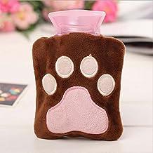 2016 Cartoon Mini Hot Water Bottle Small Warm Hand Treasure Baby Warm Hand Treasure Bear's paw 4.7-3.9In