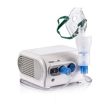 Compresor Nebulizador Blanco Máquina Kits Para Casa Usar, Nebulizador Repuestos Incluyendo Tubo, Máscara, Boquillas Inhalador, Medicina Copa Etc.: ...