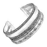 Silpada 'Multi-Pattern' Cuff Bracelet in Sterling Silver, 6.75''