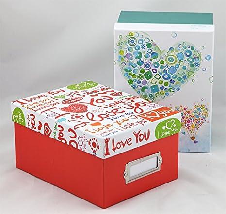 2 Fotoboxen Color Variation für 700 Fotos in 10x15 cm mit Registerkarten