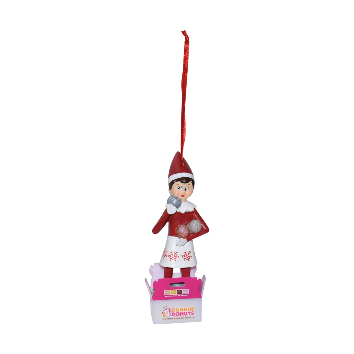 Amazon.com: Dunkin Donuts The Elf on the Shelf Lmited 2017 Ornament ...