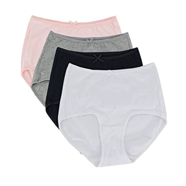 c89df1965d40 SYAYA Comfortable Briefs Ladies Knickers Womens Hipsters (XL): Amazon.co.uk:  Clothing