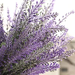 Xemesis-Store - Other - French Romantic Valentine's Day Violet Flowers Provence Artificial Flowers Grain Wedding Decorative Garden Plants A1350 1 PCs 73