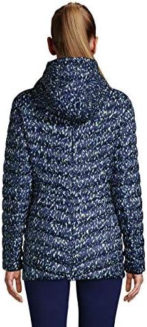 Lands' End Women's Ultralight Packable Down Jacket