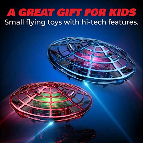 Force1 Scoot Duo Hand Drones for Kids – Kids Drone, Flying Ball Drone Toys for Boys and Girls (2Pk) 51fDREey9ZL