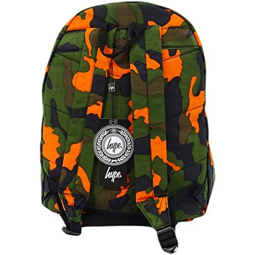 Hype Hype bag (Zest) Camo, Borsa a spalla uomo verde Camo Taglia unica
