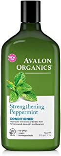 product image for Avalon Organics Conditioner, Strengthening Peppermint, 11 Oz