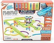 HEXBUG Flash Nano nanotopia - Colorful Sensory Playset for Kids - Build Your Own Playground - Over 130 Pieces