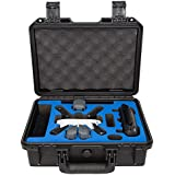 Best Review Ultimaxx Waterproof Case For Dji Spark Quadcopter Rugged Compact Travel Storage Durable Hard Case With Drone Accessories Storage