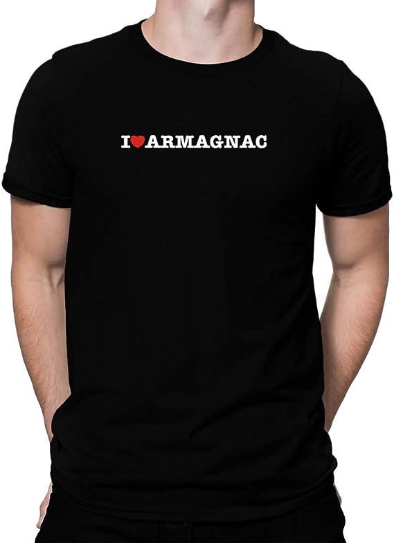 Teeburon I Love Armagnac Linear T-Shirt