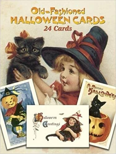 Old-Fashioned Halloween Cards: 24 Cards (Dover Postcards): Oldham