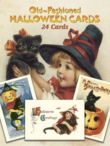 (Old-Fashioned Halloween Cards: 24 Cards (Dover)
