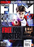 Daniel Radcliffe (Harry Potter and the Deathly Hallows: Part 1), Hugh Jackman (X-Men Origins: Wolverine FREE FOIL POSTER!) - May, 2009 Total Film [U.K.] Magazine Issue #154