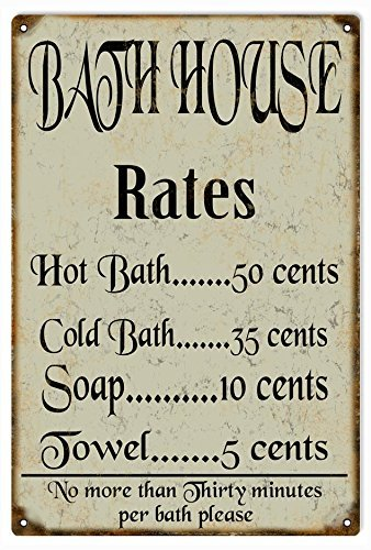DominicaVwesk Bath House Rates Country Reproduction -