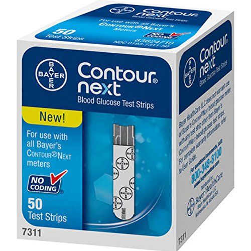 Contour-Next Contour next 50 Test Strips (Diabetic Test Strips Bayer)