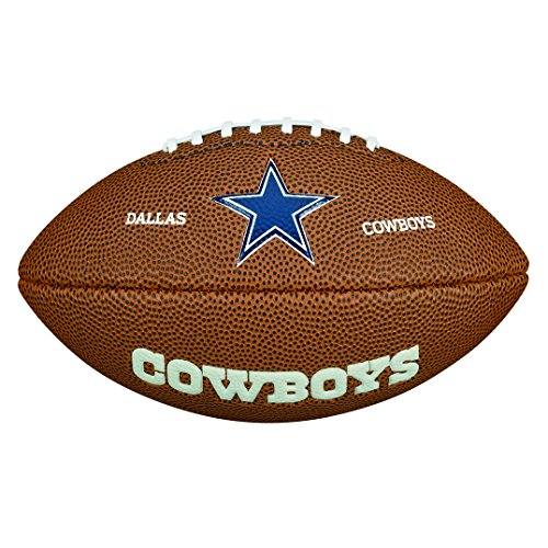 Wilson WTF1533IDDL NFL Team Logo Mini Size Football - Dallas Cowboys