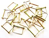 10 Goliath Industrial 3/8'' Square Canopy Pto Trailer Hitch Pins SCPTC38 Awning