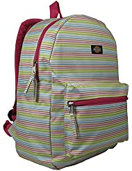 Dickies Recess Backpack, Thick Thin Stripe/White, One Size