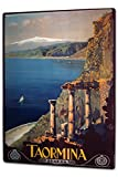 Tin Sign XXL Travel Kitchen Taormina Italy