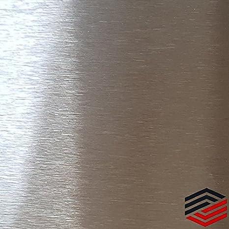 Edelstahl Blechstreifen K240 geschliffen 2000mm lang Flachstahl Streifen 1.4301
