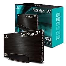 """Vantec 3.5"""" SATA 6 Gb/s to USB 3.1 Gen II Type-A HDD Enclosure (NST-370A31-BK)"""