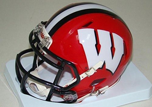 Wisconsin Badgers Riddell Speed Mini Replica Alternate Football Helmet