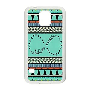 Cheap Hakuna Matata quotes series protective case cover For Samsung Galaxy S5 SHIKAI692617
