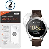 Fossil Q Founder Gen 2 (2016) Screen Protector, BoxWave [ClearTouch Anti-Glare (2-Pack)] Anti-Fingerprint Matte Film Skin for Fossil Q Founder Gen 2 (2016)