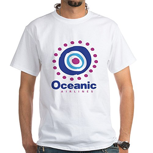 Oceanic Airlines - CafePress Oceanic Airlines - 100% Cotton T-Shirt, White