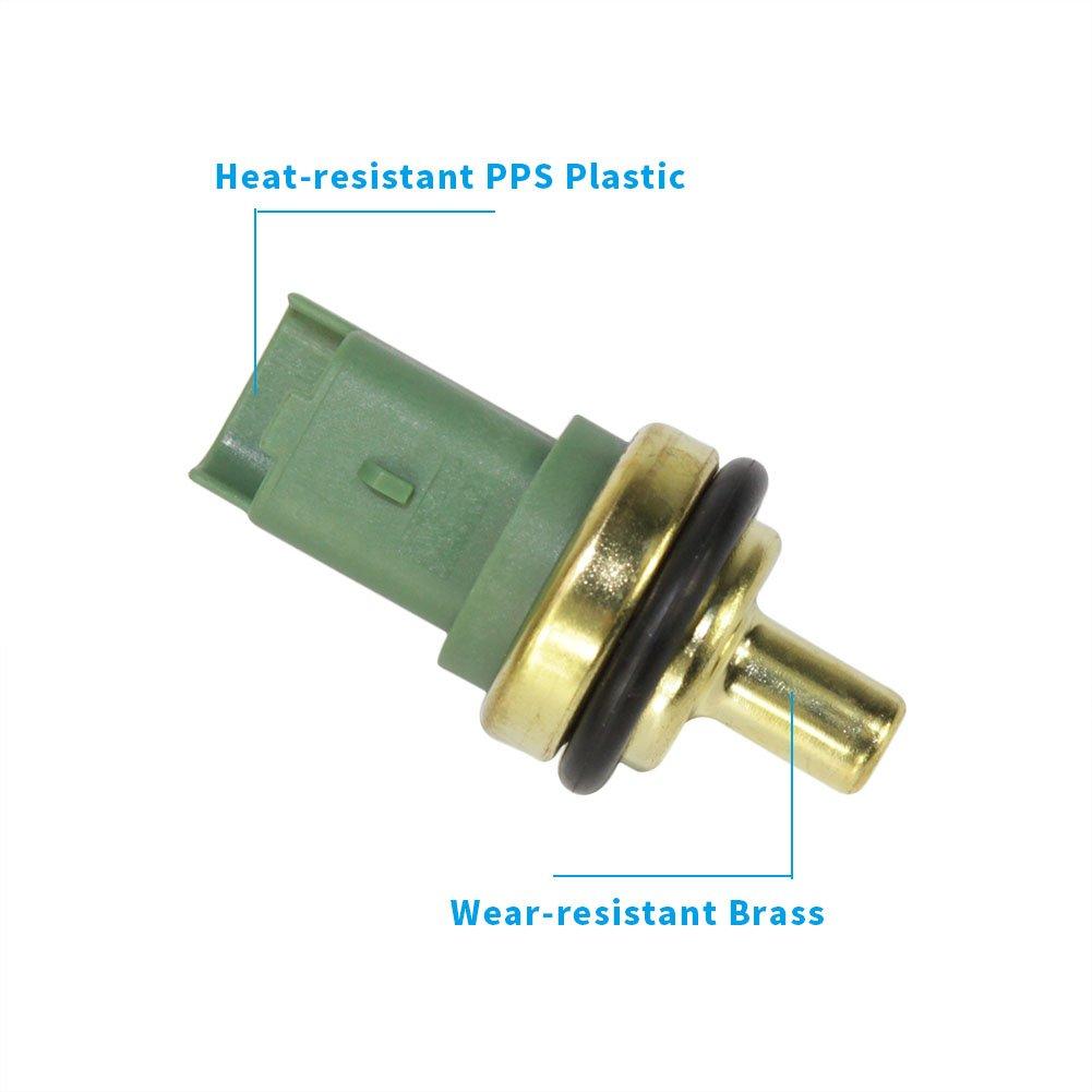 Amazon.com: Sensor de temperatura del refrigerante del motor ...