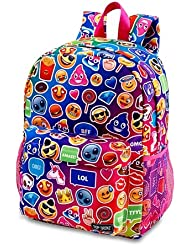 Top Trenz Inc 2 Zipper Scented Backpack