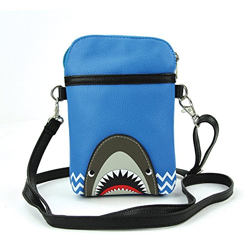 Sleepyville Critters - Shark Crossbody Pouch in Vinyl for sale  Delivered anywhere in Canada